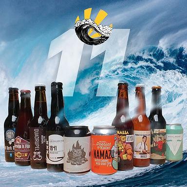 Beernami craft beer subscription box Wav