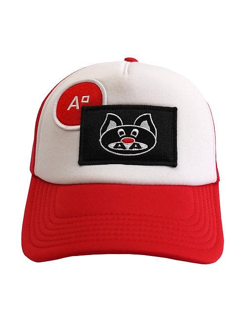 CAP TRUCKER RED