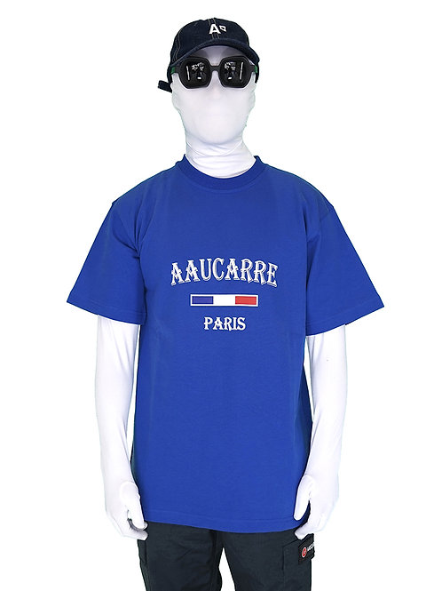 T-SHIRT TOURIST ROYAL BLUE