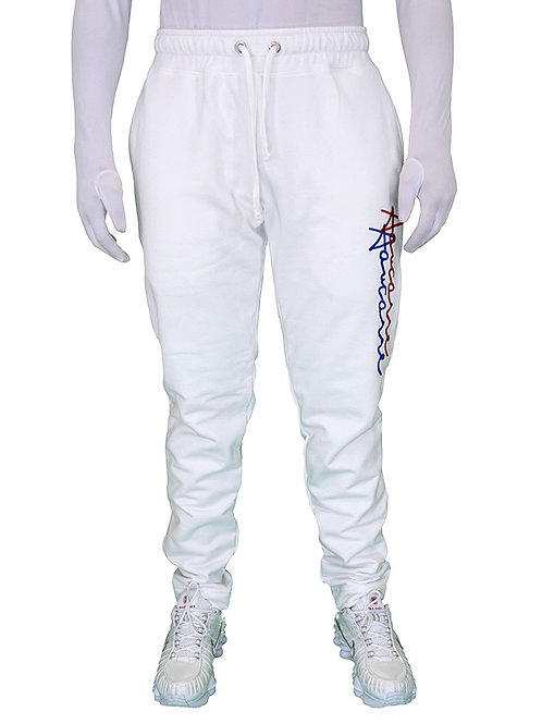PANTS JOGGING SIGNATURE WHITE