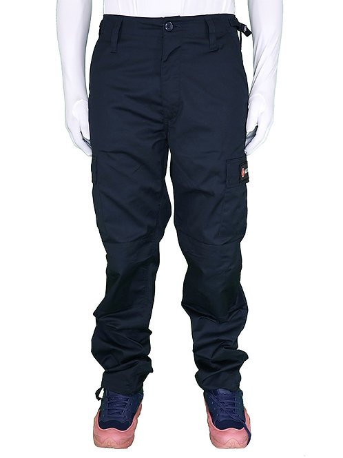 PANTS CARGO NAVY BLUE