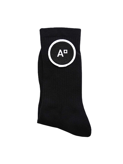 SOCKS LOGO BLACK & BLACK