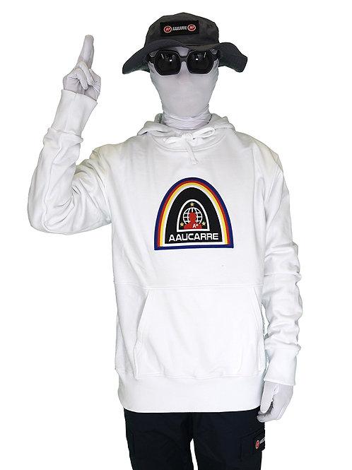 HOODIE SPACE WHITE