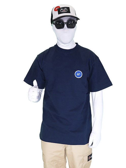 T-SHIRT LOGO NAVY BLUE