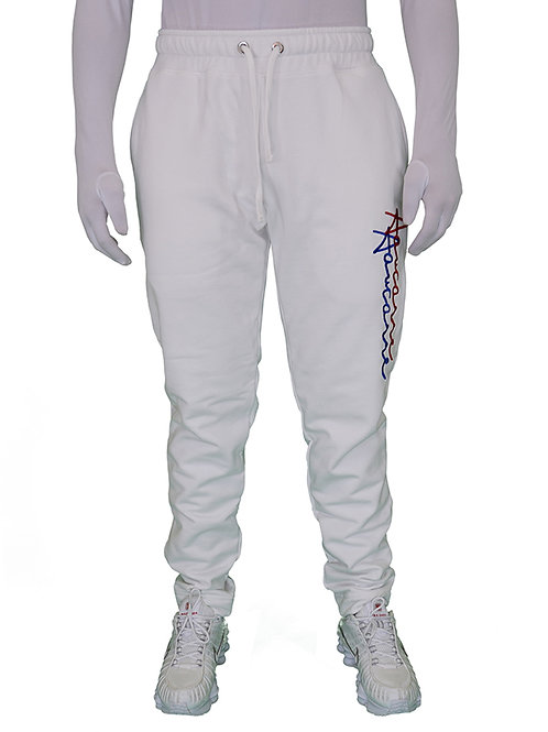 PANTS JOGGING SIGNATURE WHITE