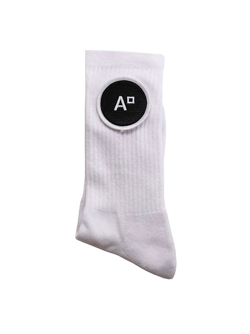SOCKS LOGO WHITE & BLACK