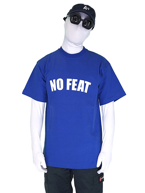 T-SHIRT NO FEAT ROYAL BLUE