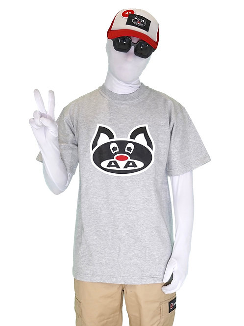 "T-SHIRT ""PIWI HEATHER GREY"""