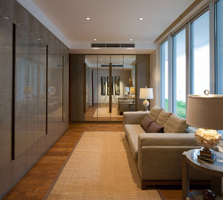 Living room, private residence