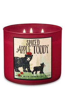 Spiced Apple Toddy 3-wick candle, Bath & Body Works, $12.95
