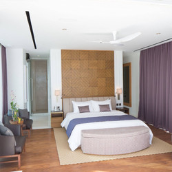 Bedroom, private residence