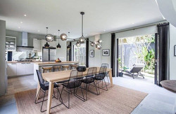 Dining room, private residence