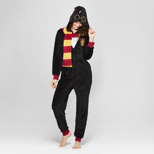 Women's Warner Brothers Harry Potter Union Suit - Black, Target, $27.99