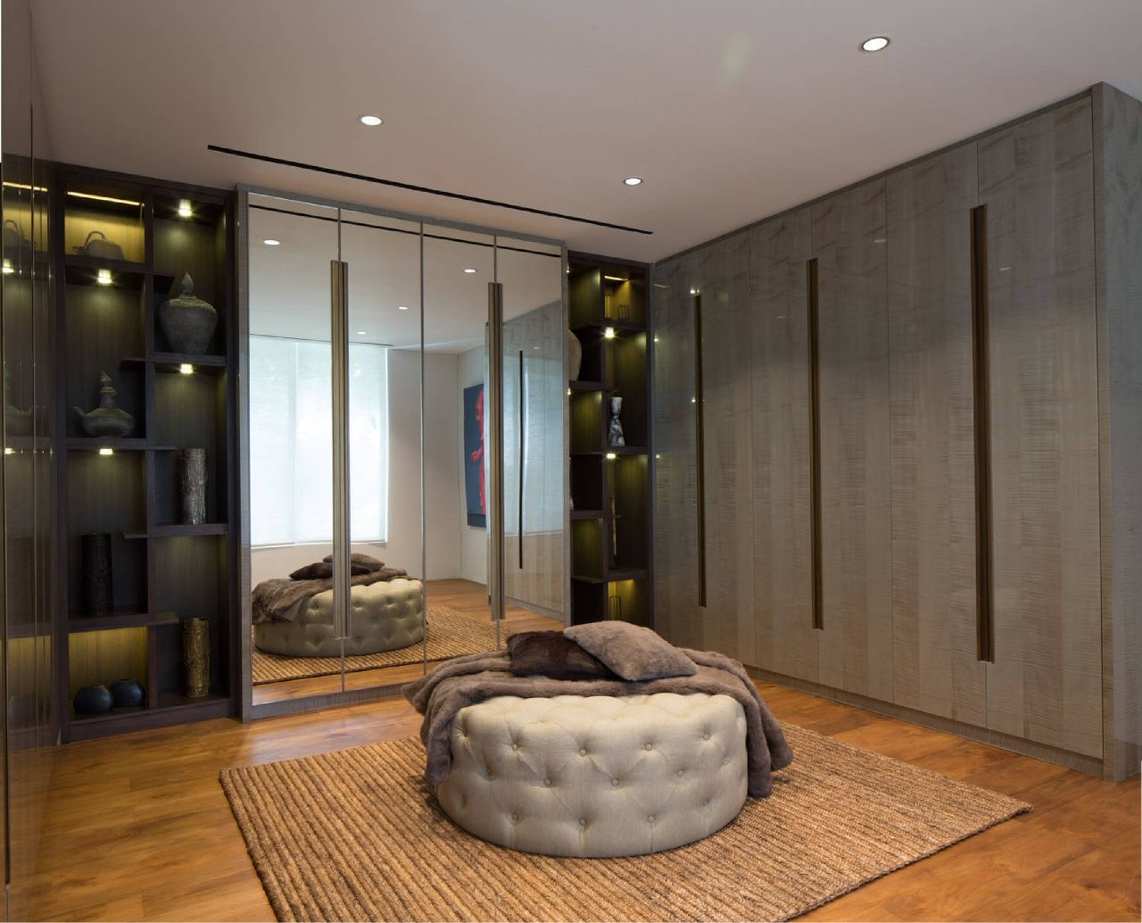 Dressing room, private residence