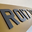 Thumbnail: 21x6 tinted 4d laser cut rear only Range Rover