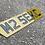 Thumbnail: 3d black gel tinted lambo shape plate