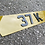 Thumbnail: 4d tinted lambo shape plates (SHOW PLATES)