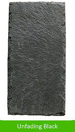 Our most popular color. A deep dark black slate, hard and long lasting.