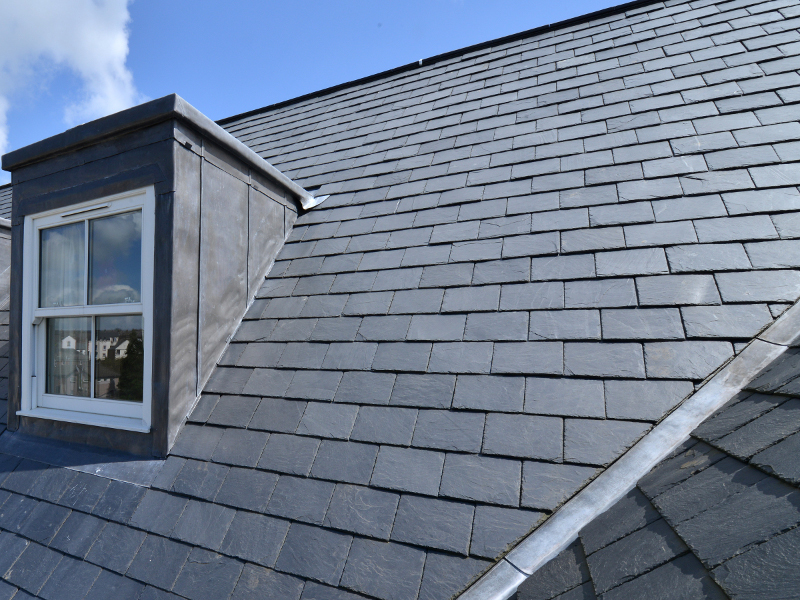SSQ Black Slate Roof