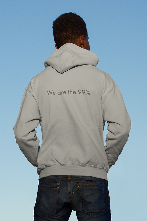 We are the 99% - Oracle Girl - Unisex eco pullover hoodie