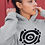 Thumbnail: Listening to myself - Oracle Girl - Unisex eco pullover hoodie