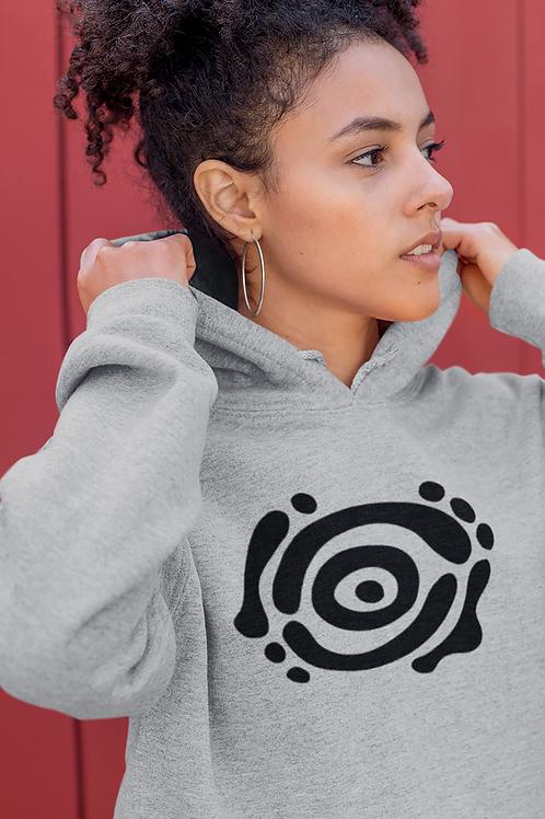 Listening to myself - Oracle Girl - Unisex eco pullover hoodie