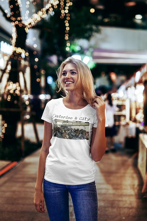 Waterloo & City II - Women's Organic Fitted T-shirt