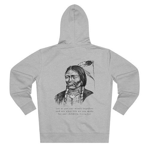 Sitting Bull - Men's Organic Cruiser Full Zip Hoodie