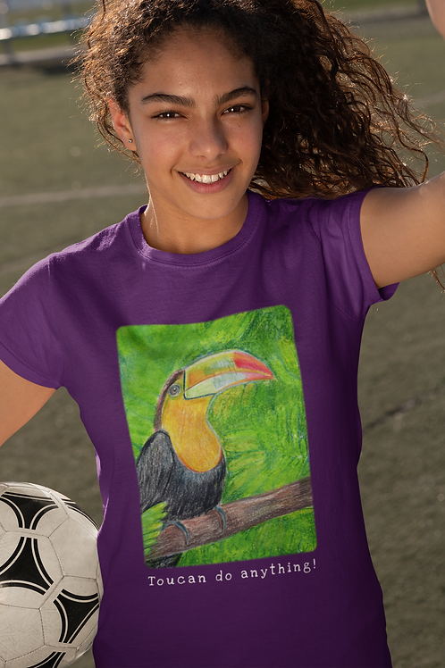 Toucan do anything - Kids Softstyle Tee