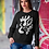 Thumbnail: Gold and togetherness - Oracle Girl - Unisex eco sweatshirt