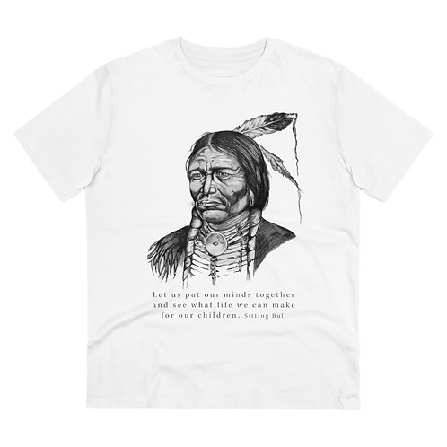 Sitting Bull - Men's Organic T-shirt
