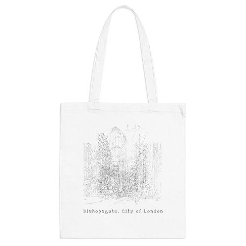 Bishopsgate, City of London - Tote Bag