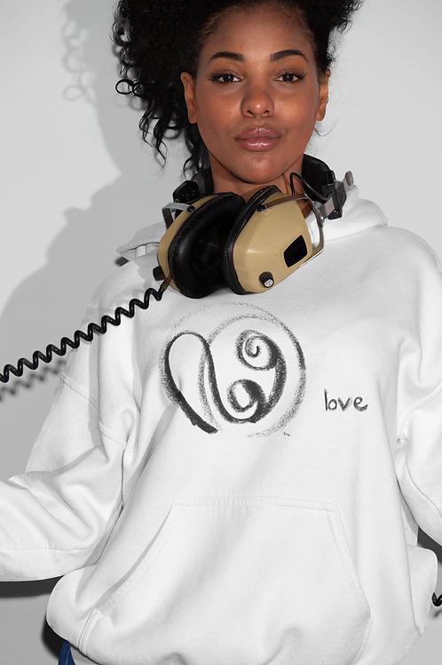 Love - Oracle Girl - Unisex Cruiser Organic Hoodie
