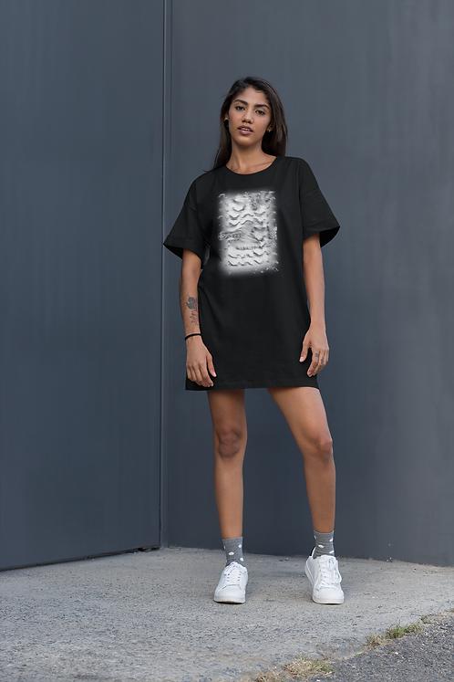 Warrior - Organic cotton t-shirt dress