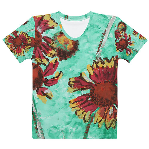 Rudbeckias - Women's All Over Print T-shirt