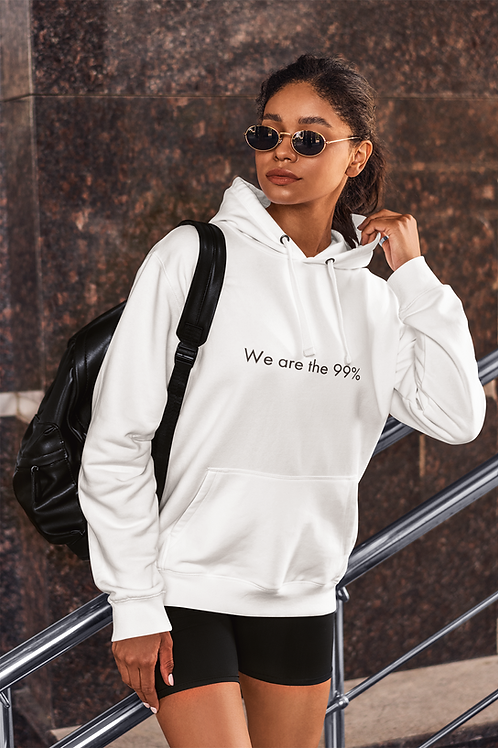 We are the 99% - Oracle Girl - Unisex Cruiser Organic Hoodie
