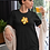 Thumbnail: Hibiscus - Organic cotton t-shirt dress