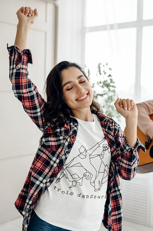 Trois Danseurs - Women's Organic Fitted T-shirt