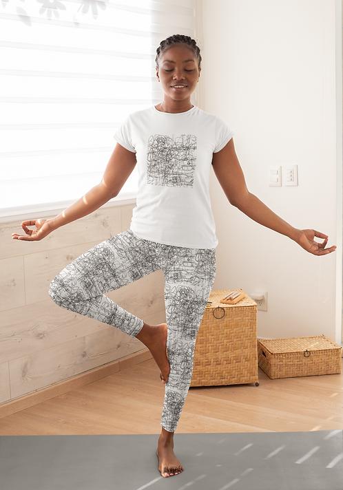 Noise - Ethical Yoga Leggings