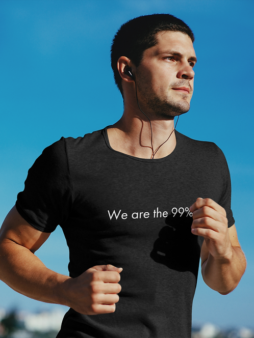 We are the 99% - Oracle Girl - Unisex organic cotton t-shirt