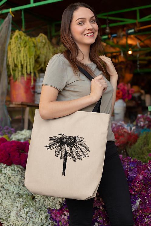 Echinacea - Organic cotton Tote Bag