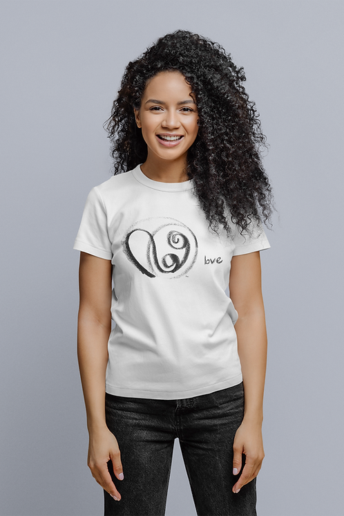 Love - Oracle Girl - Women's fitted organic cotton tee