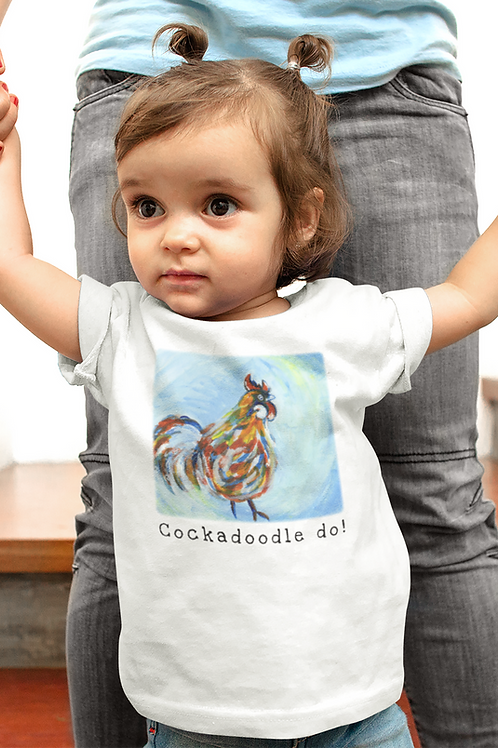 Cockadoodle do! - Infant Fine Jersey Tee