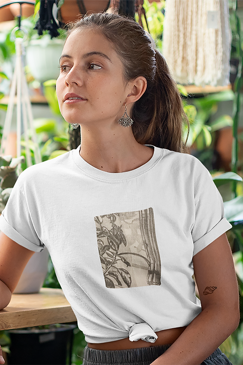 Ficus elastica - Women's fitted organic cotton tee