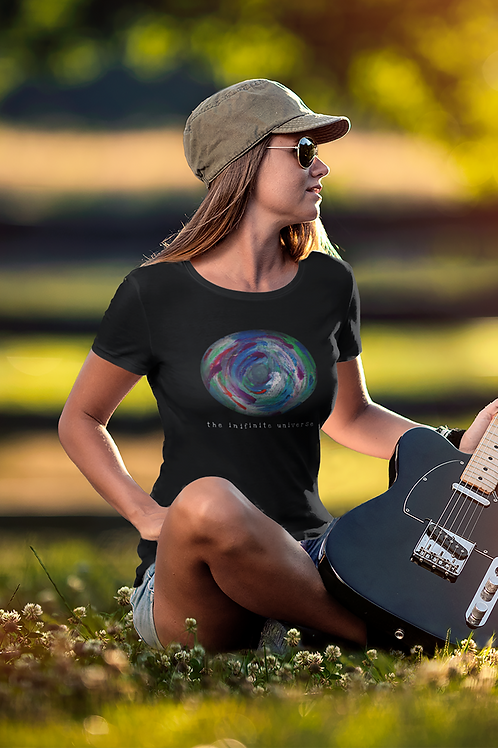 The Infinite Universe - Women's Organic Fitted T-shirt