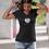 Thumbnail: Heart, body & soul - Women's recycled v-neck t-shirt