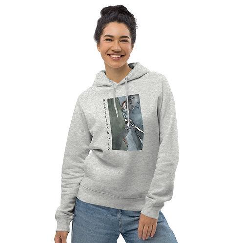 Waterloo & City IV - Unisex eco pullover hoodie