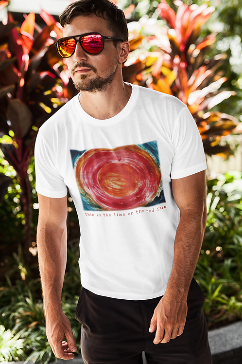 This is the time of the red sun - Unisex Organic Slim Fit T-Shirt