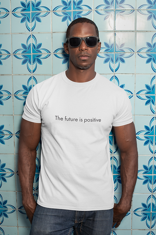 The future is positive - Oracle Girl - Unisex organic cotton t-shirt