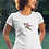Thumbnail: Hummingbird - Women's fitted organic cotton tee